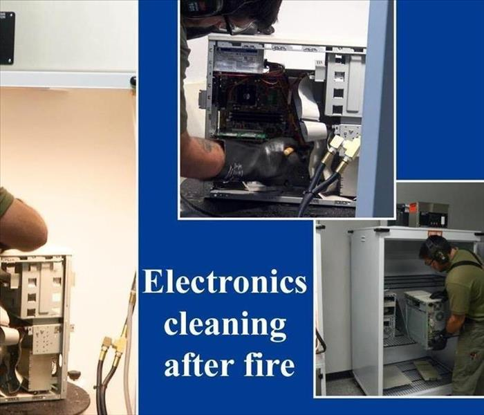 SERVPRO of Puyallup/Sumner Fire Damage Electronic Cleaning