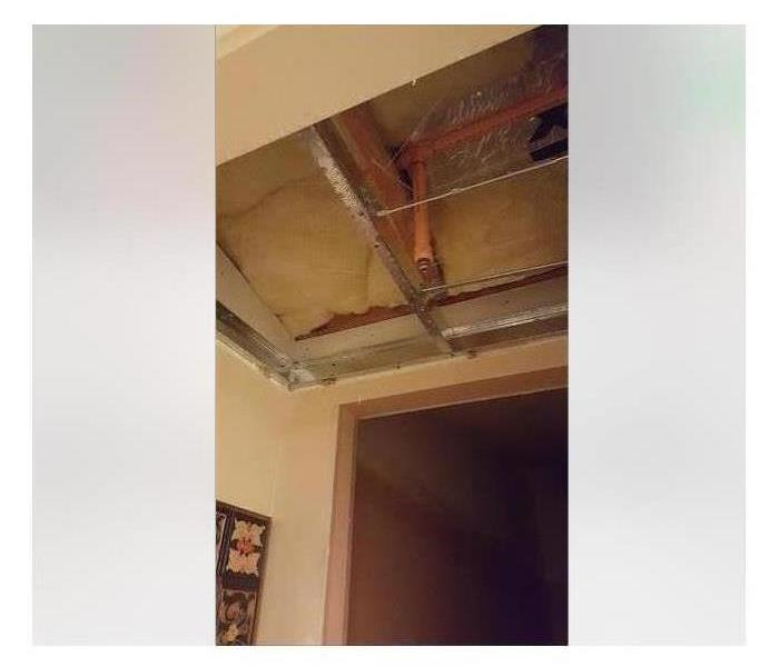 Water Damage How To Handle Water Coming From the Ceiling